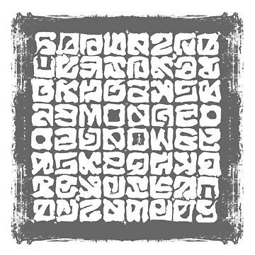 Unbekannte Sprache von Periartwork