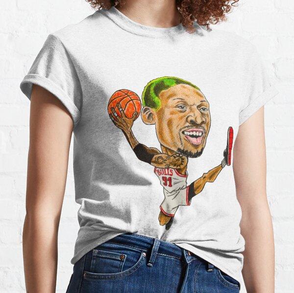 Rodman Caricature Classic T-Shirt