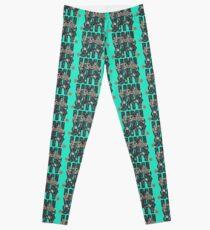 University and College | Batik Floral | Q2 |  University of Tennessee Leggings