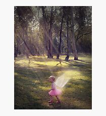 """""""Woodland Angel"""" - A Tribute To Breast Cancer Awareness Photographic Print"""