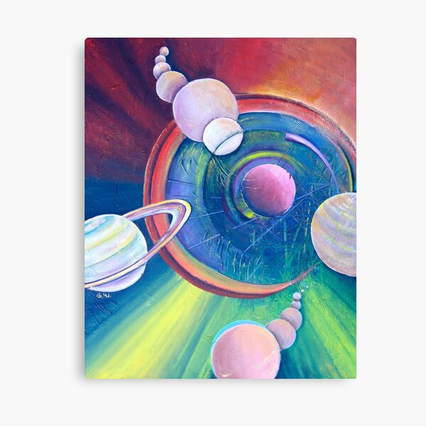 Planetary Alignment Canvas Print