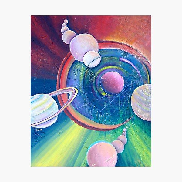 Planetary Alignment Photographic Print