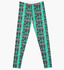 University and College | Batik Floral | Q2 |  University of Washington Leggings