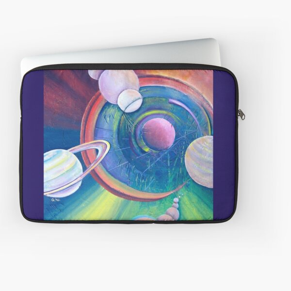Planetary Alignment Laptop Sleeve