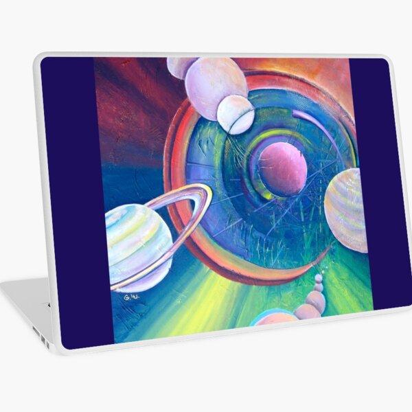 Planetary Alignment Laptop Skin