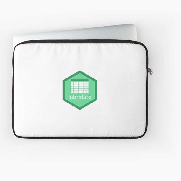 R Lubridate Logo Laptop Sleeve