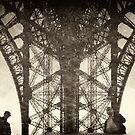 Reflections in Eiffel by Victor Pugatschew