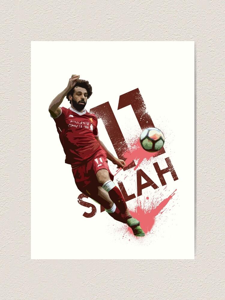 Sport Wall Art Gift Liverpool Firmino Salah Football Shirt ART PRINT Mane