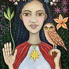 Inanna 'Lady Divine Owl' by Karen Elliott