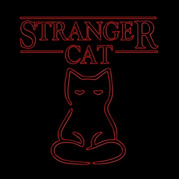 Stranger Cat by -monkey-