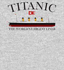 Titanic, 1912, RMS Titanic, Cruise, Ship, Disaster. Kids Pullover Hoodie