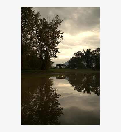 Reflections of the Farm Photographic Print