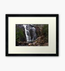 McKenzie Falls Framed Print