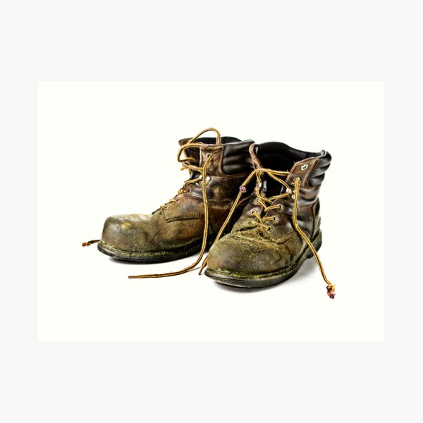 These Boots are made for Workin!! Art Print