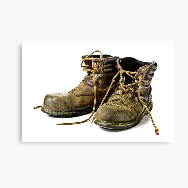These Boots are made for Workin!! Canvas Print
