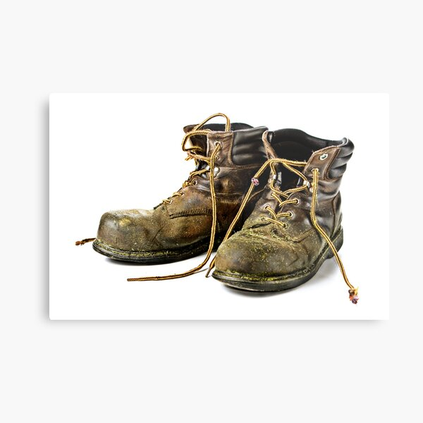These Boots are made for Workin!! Metal Print