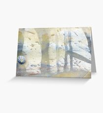 watercolour limpet Greeting Card