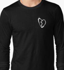XXXTentacion heart white Long Sleeve T-Shirt