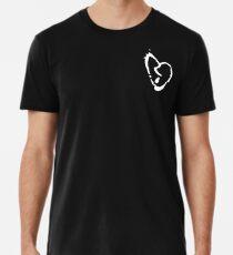 XXXTentacion Herz weiß Premium T-Shirt