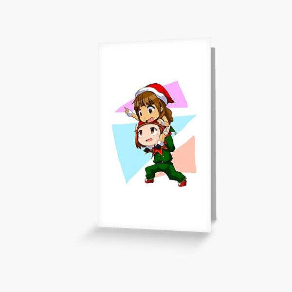 Xmas WayHaught Greeting Card