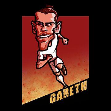 Gareth Bale by palomedridista