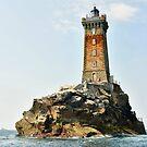 Leuchtturm von La Vieille von Jean-Luc Rollier