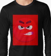 Red wütend !!! kantig Langarmshirt