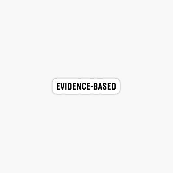 Evidence-based Sticker
