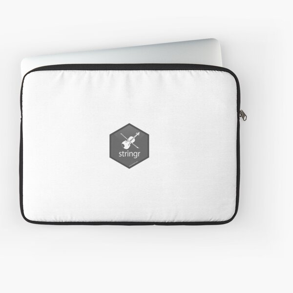 R Stringr Logo Laptop Sleeve