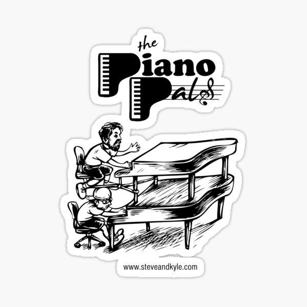 Piano Pals II Sticker