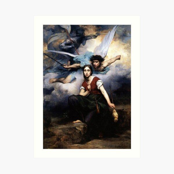 Jeanne D' Arc Art Print
