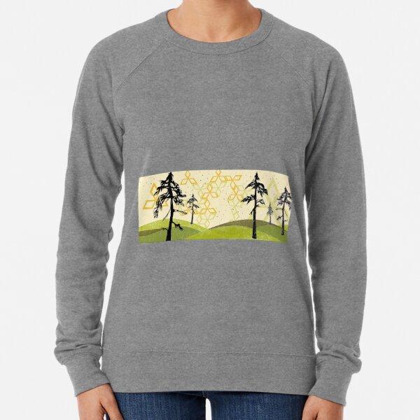 Florida Pine Forest Lightweight Sweatshirt
