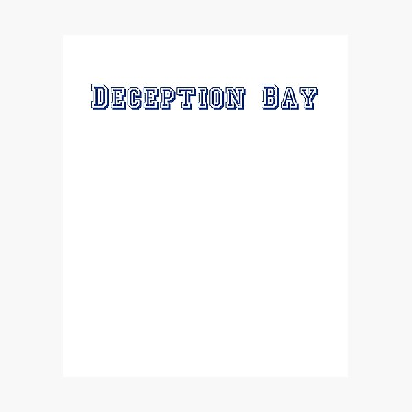 Deception Bay Photographic Print