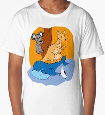 Australian Animals Long T-Shirt