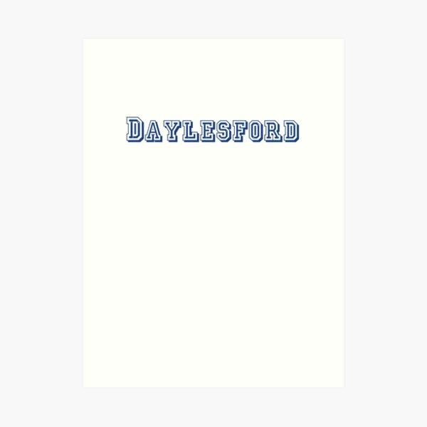 Daylesford Art Print