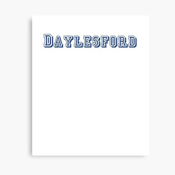 Daylesford Canvas Print
