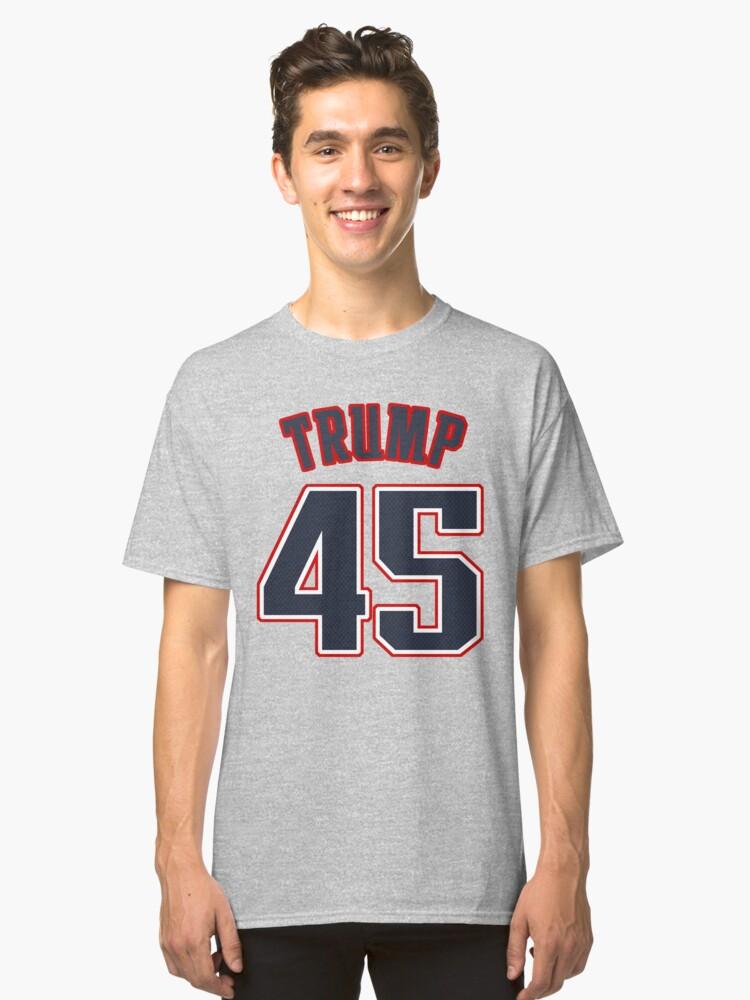 TRUMP 45 - Alternate Classic T-Shirt Front