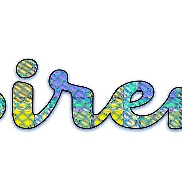 Siren - GA by OshustArt