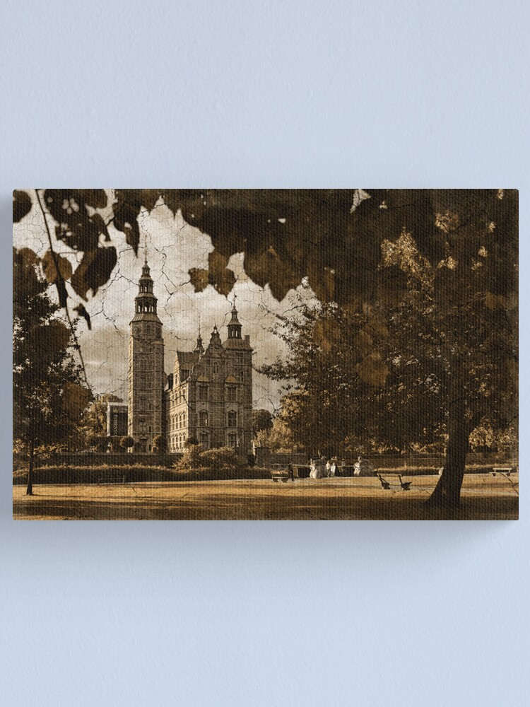 Alternate view of Greetings from Copenhagen Canvas Print