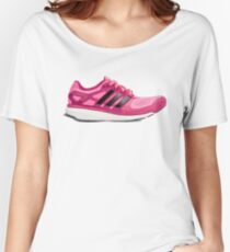 Pink Sport Shoes Women's Relaxed Fit T-Shirt