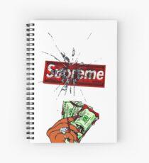 Money Supreme Spiral Notebook