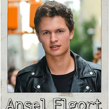 Ansel Elgort by Sticker4You