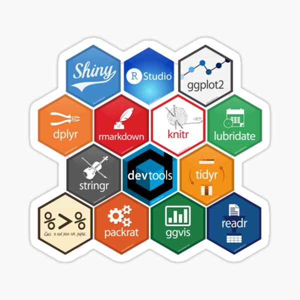 R Packages Sticker