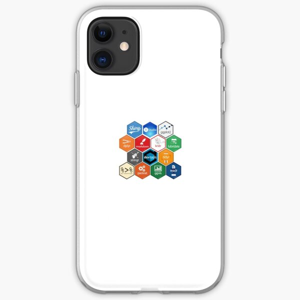 R Packages iPhone Soft Case