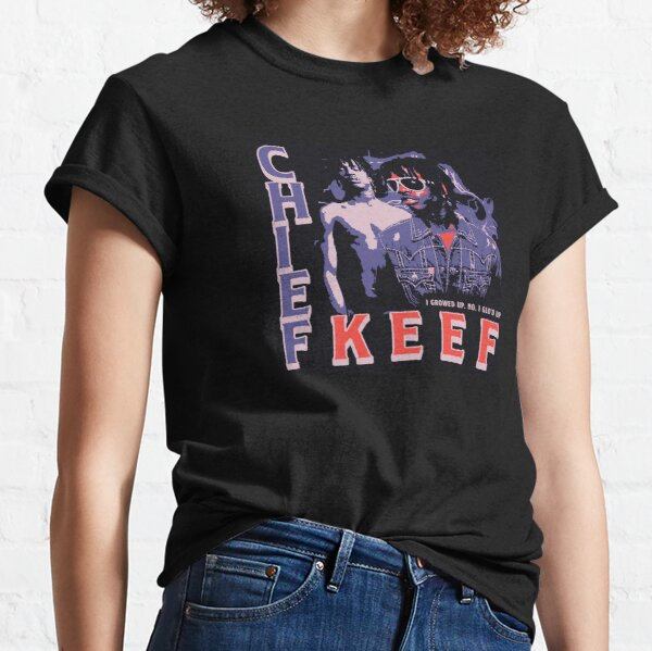 Tee Shirt Vintage Chief Keef T-shirt classique