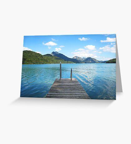 Fuschl See Greeting Card