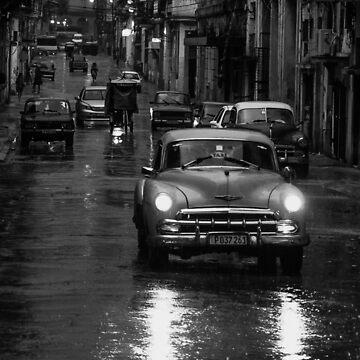 A rainy night in Havana by henryharrison
