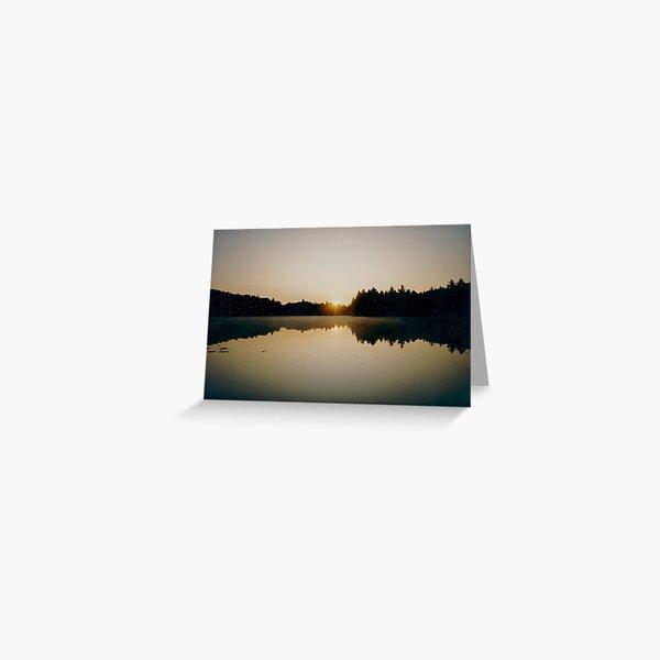 Reflections at Dawn Greeting Card