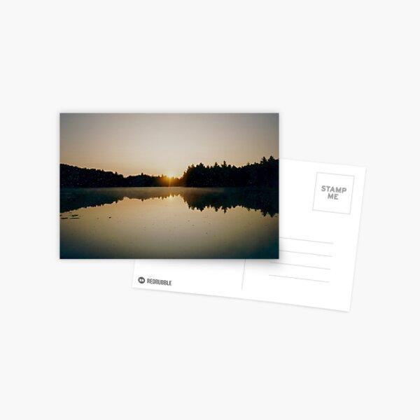Reflections at Dawn Postcard
