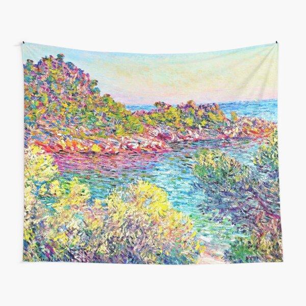 Landscape near Montecarlo  - Claude Monet  Tapestry